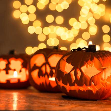 Halloween pumpkin lanterns - perfect decoration for Halloween