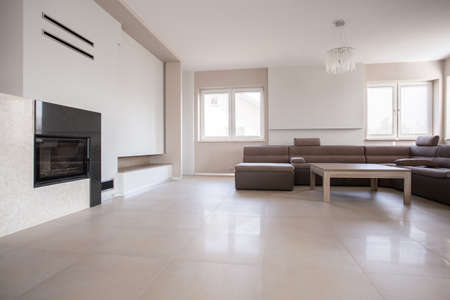 Exclusive sitting room in luxury detached house