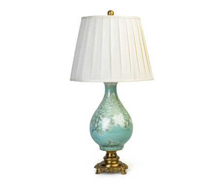 Photo for Vintage table lamp isolated on white background - Royalty Free Image