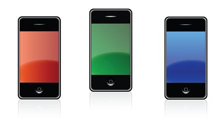 Illustration Phones Set