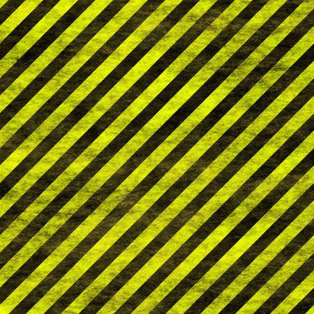 warning stripes