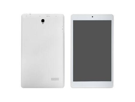 Photo pour Tablet isolated on white - image libre de droit