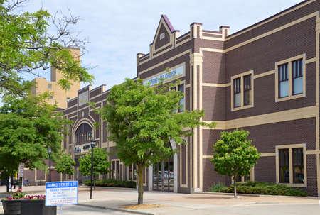 Photo pour Downtown Green Bay, Wisconsin - image libre de droit