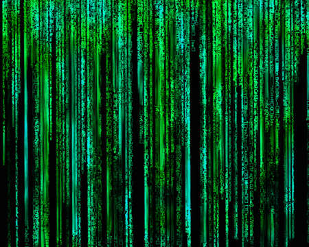Matrix Letter code by the long green