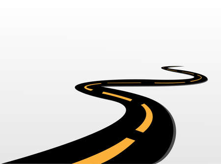 Foto de vector road  - Imagen libre de derechos