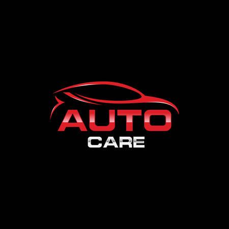 Car automotive logo vector illustration, Auto Car Logo, Car logo in simple line graphic design template vector, Car automotive logo template vector illustration, Auto style car logo design with concept sports vehicle icon,