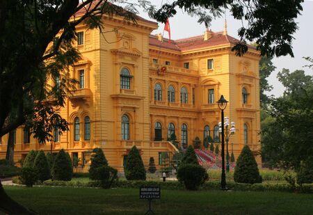 President's Yellow Palace Hanoi Vietnam