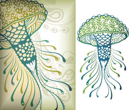 Illustration pour Marine Life 1 - image libre de droit