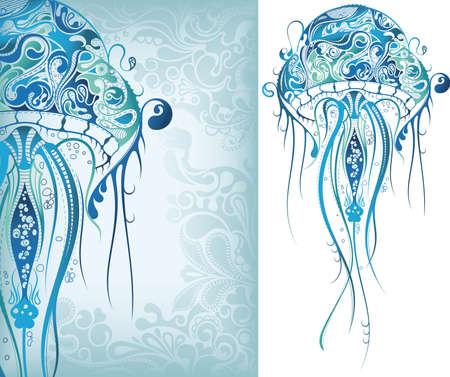 Illustration pour Jellyfish - image libre de droit