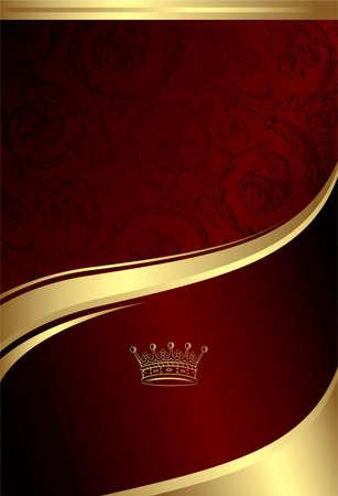 Illustration for Classic Royal Design Background 4 - Royalty Free Image