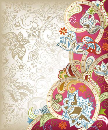 Chinese Wedding Invitation Card Royalty Free Vector Graphics