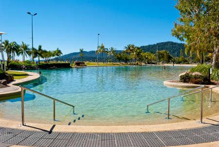 Airlie beach waterfront, Queensland, Australia