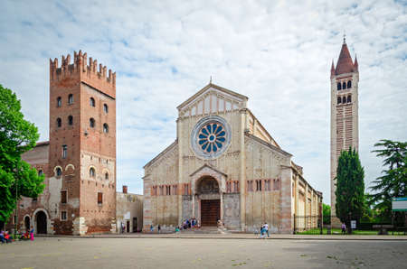 Verona (Italy), Basilica of San Zeno