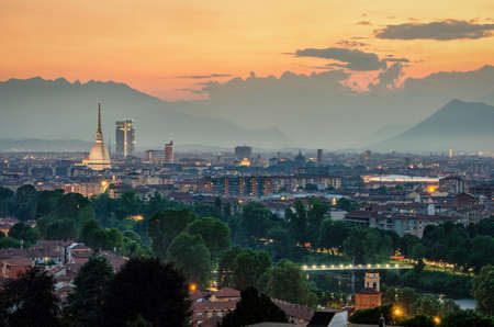 Turin (Torino) high definition panorama with the complete
