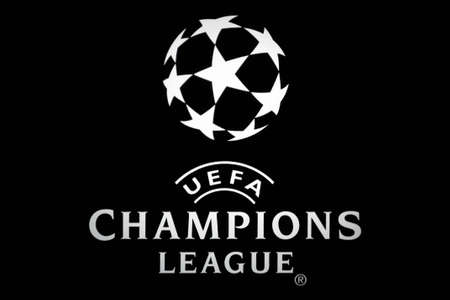 Bucharest, Romania - October 4, 2011: Close-up shot of a luminous ad for the UEFA Champions League. The UEFA Champions League is an annual international club football competition organized by the Union of European Football Associations (UEFA) since 1955 f