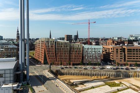 The Ãœberseequartier in Hamburg Hafen City