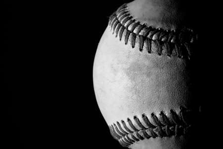 Old Baseball - Black And White