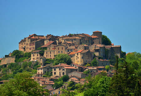 Cordes sur Ciel, a small medieval city on a hill in Southern France, near Albi and Toulouse