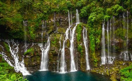 Cascade of Grand Galet, la Reunion island