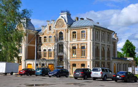 Great Choral Synagogue in Grodno - one of the oldest synagogues in Europe