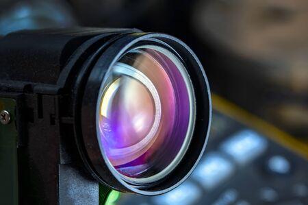 Photo pour close up camera lens, camera lens background - image libre de droit