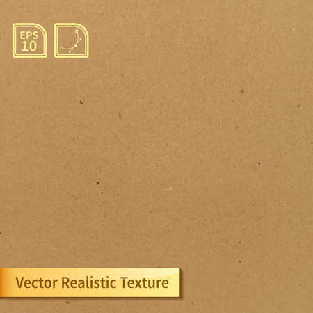 Illustration for Vector soft clean cardboard texture. Photo texture for your design - Royalty Free Image
