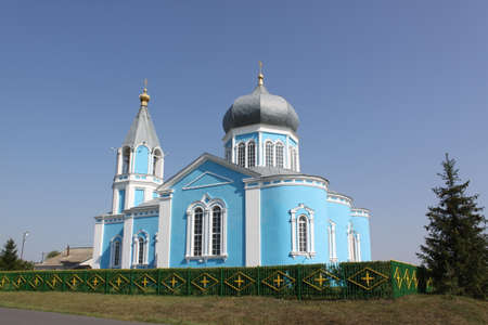Russia  Kursk  Church in country
