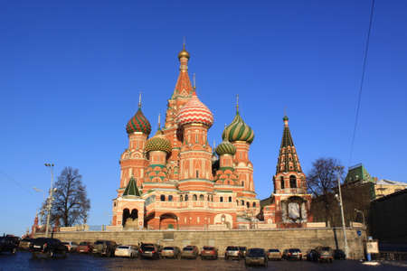 Russia. Moscow. Saint Basil's Cathedral