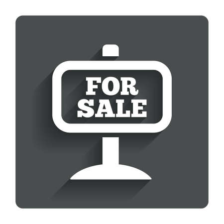 For sale sign icon.