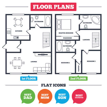 House floor plan. Best mom and