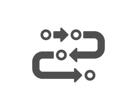 Illustration pour Methodology icon. Development process sign. Strategy symbol. Quality design element. Classic style icon. Vector - image libre de droit