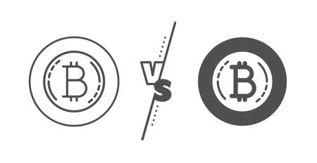 blank cryptocurrency coin