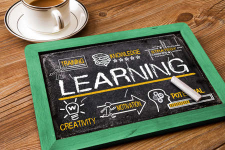 Foto de learning concept with education elements - Imagen libre de derechos