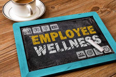 Photo pour employee wellness concept - image libre de droit