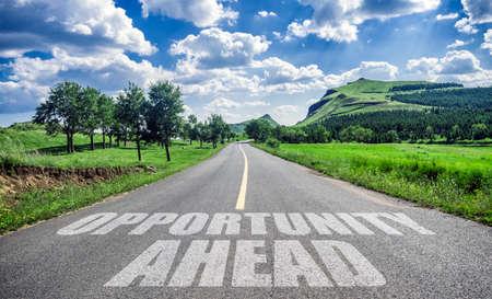 Photo pour opportunity ahead - image libre de droit