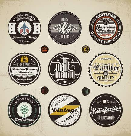 Foto für Retro Badges and Labels set.  - Lizenzfreies Bild