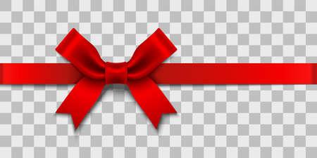 Ilustración de Satin Ribbon Bow design element - Imagen libre de derechos