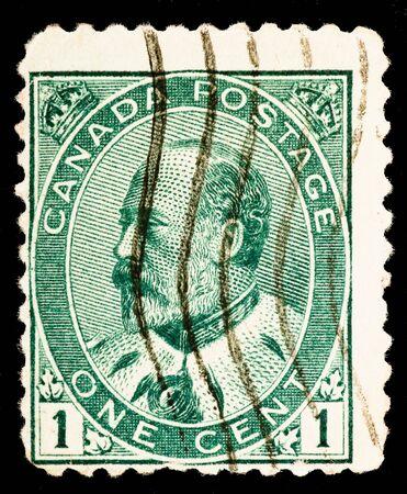 Vintage Canadian postage stamp