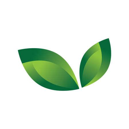 Illustration pour abstract green leaves - image libre de droit