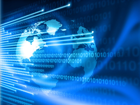 Photo for Global Internet technology  concept - Royalty Free Image