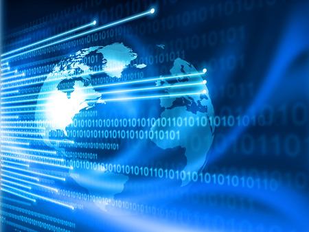 Foto de Global Internet technology  concept - Imagen libre de derechos
