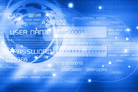 Photo pour Global Internet concept background - image libre de droit