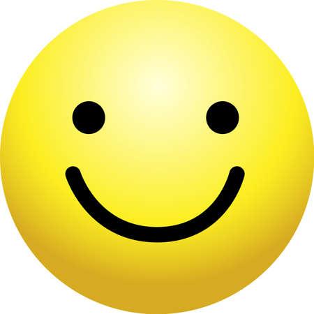 Ilustración de This is a simple face icon with various facial expressions. - Imagen libre de derechos