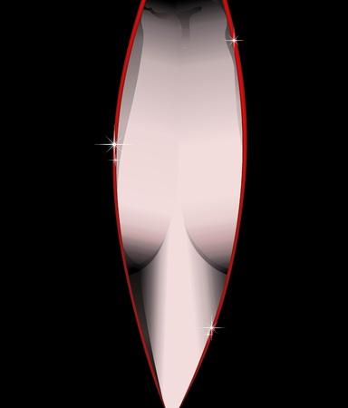 Sensual Sexy Woman's Breast