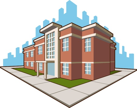 Photo for School Building - Royalty Free Image