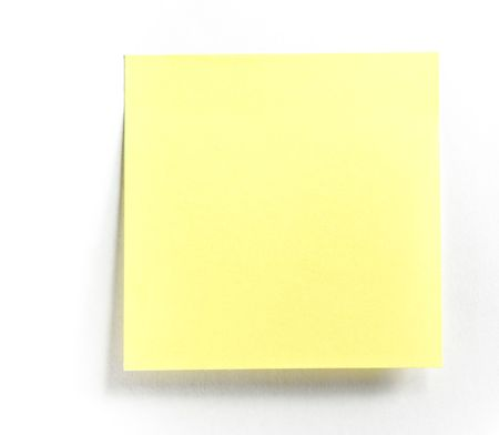 Post-it note isolated