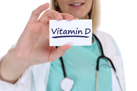Vitamin D vitamins healthy eating lifestyle doctor nurse health with sign
