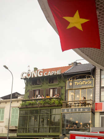 Cong Caphe Cafe in Hanoi