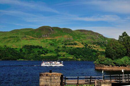 Boat on a Scottish Loch