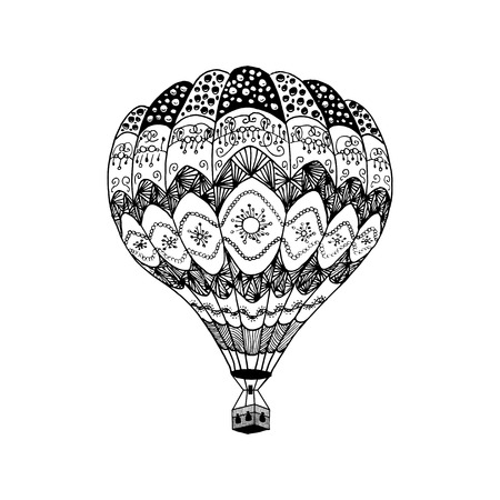 Hot Air Balloon coloring page | Free Printable Coloring Pages | 450x450